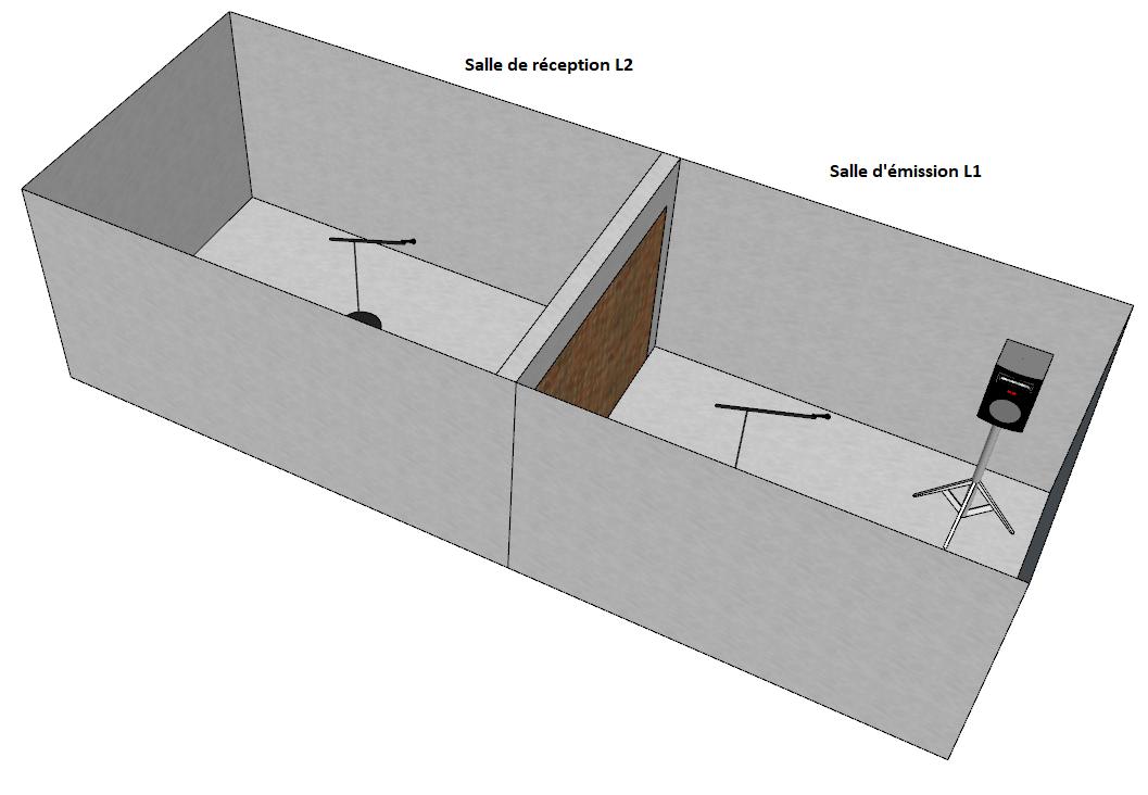 salle mesure isolement acoustique
